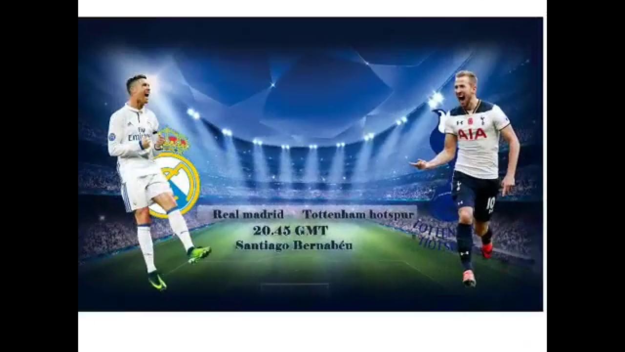 Real Madrid Vs Tottenham Live Stream Hd Now Youtube