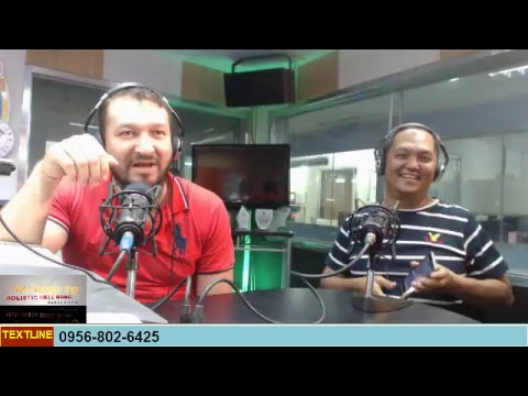 THE ROAD TO HOLISTIC WELL BEING HOSTED BY:DOC BONG RAMIREZ