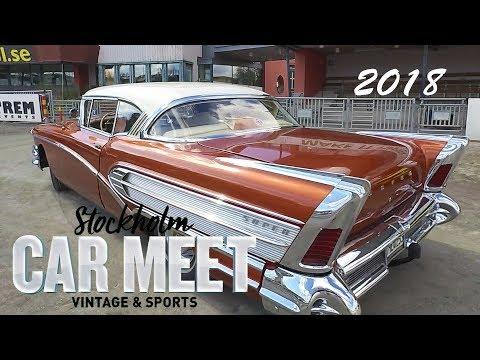 Stockholm Vintage & Sports Car Meet 2018 - Cruising & V8 Rumble