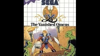 Ys - The Vanished Omens - Sega Master System HD 60 fps