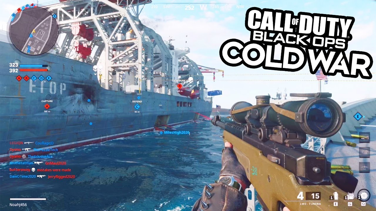 CoD: Black Ops Cold War: First preview of Season 4