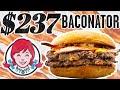 $237 Wendy's Baconator Taste Test | FANCY FAST FOOD