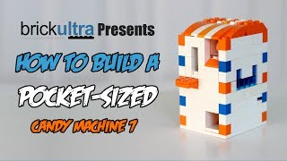 How To Build A Mini Lego Candy Machine 7‏