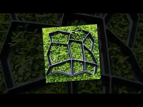 Kaip pasigaminti sodo takelį? Sodo takelių formos, trinkelių liejimo formos