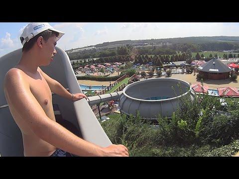UFO Water Slide at Aquaréna