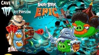 Angry Birds Epic: Unlocked Master Samurai - Cave 4 Cure Cavern 4 walkthrough