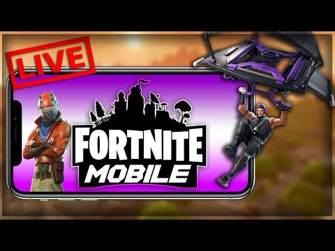 Fortnite Mobile Gameplay Stream!! Playing With Viewers!!