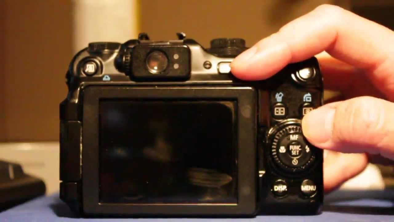 Canon PowerShot G11 Camera Control Jog Wheel Dial Problem