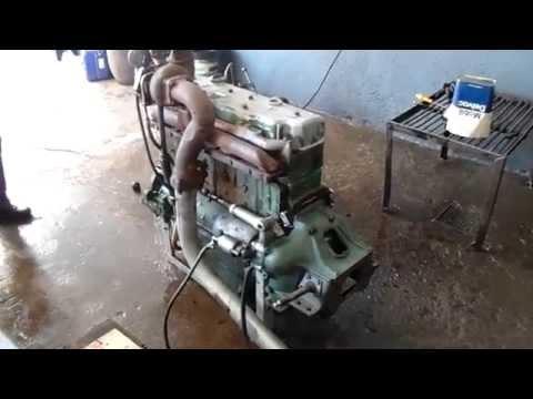 Teste Motor MB - OM 352 Engine