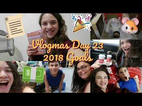 My New Year's Resolutions for 2018 | Vlogmas Day 23 | Zoe Rebekah