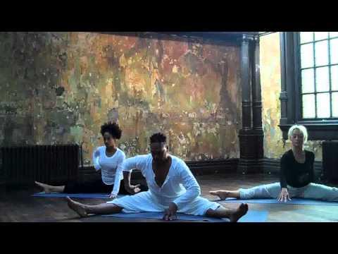 David Olton Lyrical Stretch-Contemporary yoga dvd-Rehersal