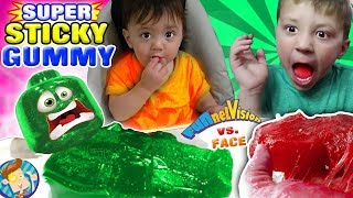 GUMMY PIZZA in MOMMY'S CLEAN HOUSE Joke FUNnel V Gummies Recycle Pt 2 Vlog