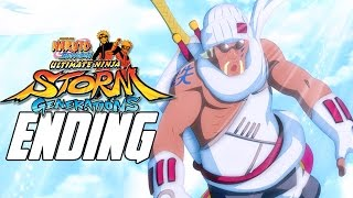 Naruto Shippuden: Ultimate Ninja Storm Generations - Walkthrough Ending, Gameplay Xbox 360