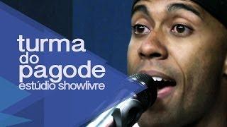 """""""O céu tava lá"""" - Turma do Pagode no Estúdio Showlivre 2012"""