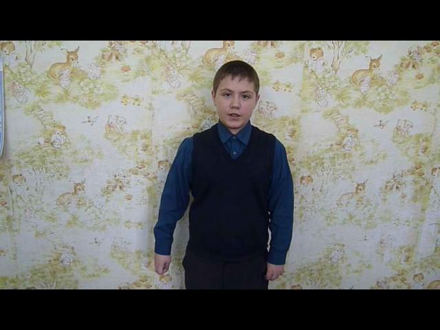 Изображение предпросмотра прочтения – НикитаМокиенко читает произведение «Майская песенка» В.В.Маяковского
