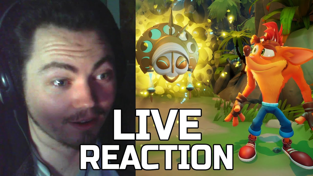 Crash 4: It's About Time | Reveal Trailer REACTION - Square Eyed Jak