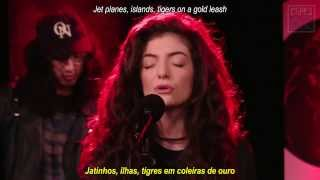 Repeat youtube video Lorde  'Royals'  (Legendas Pt/Eng)