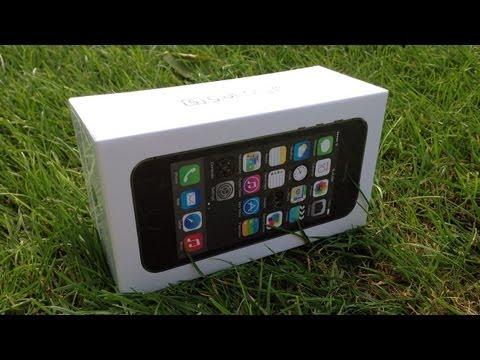 IPhone 5S: распаковка