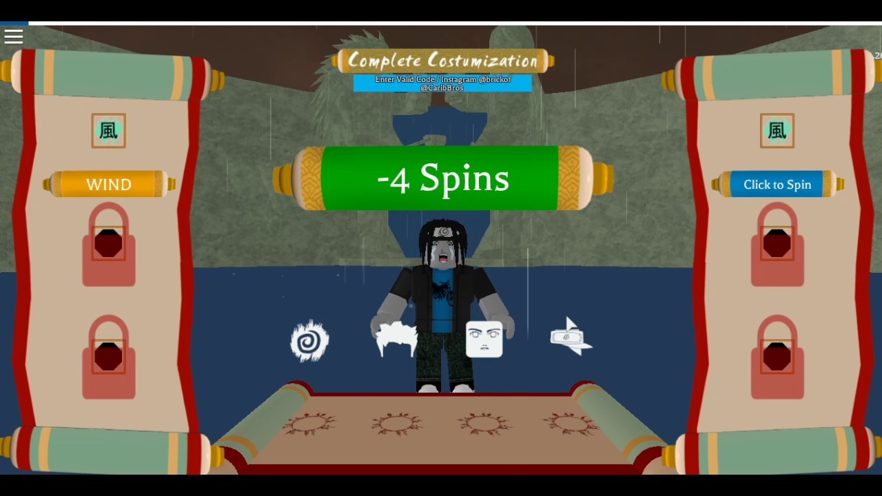 how to get spins in shinobi life roblox
