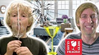 Junge zerstört Glas mit seiner Stimme - Torgshow# 96