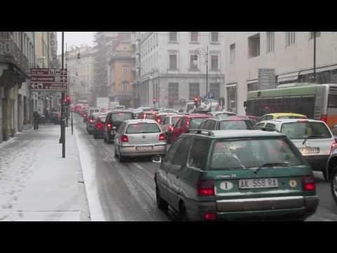 BORA e Neve 200km/h Trieste 10 marzo 2010