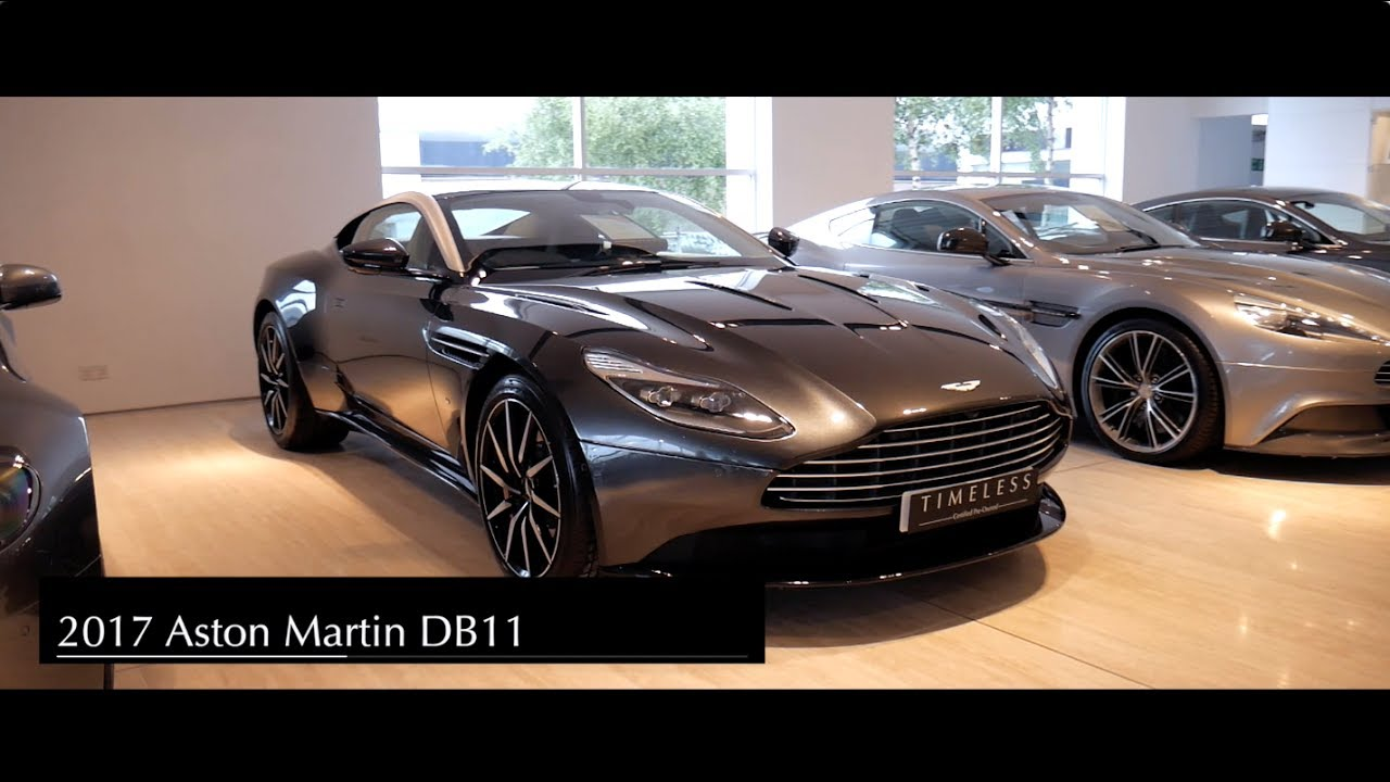 Aston Martin Db11 V12 Cold Start Revs Full In Depth Interior And Exterior Walkaround Youtube