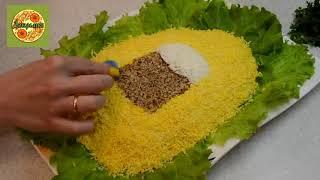 Как приготовить Салат из крабовых палочек.