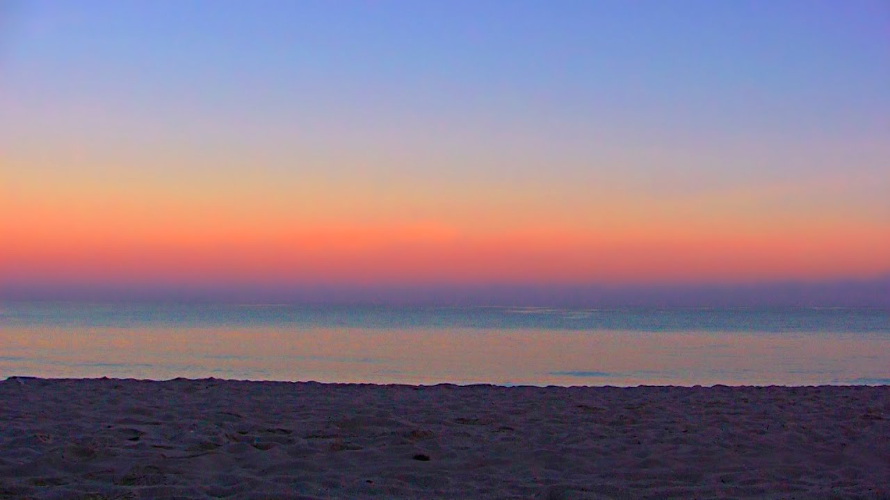 Timelapse Varadero Beach Dawn  Minutes Condensed Into  Seconds Free Hd Stock Footage Youtube