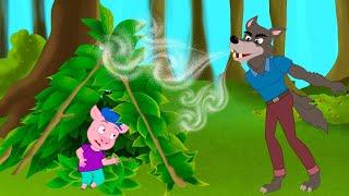Три поросенка и сказки о волках   Сказки для детей и Мультик   Песни и Сказки для детей   Сказка
