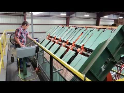 TS Grading & Trimmer Line At Hartzell Hardwoods