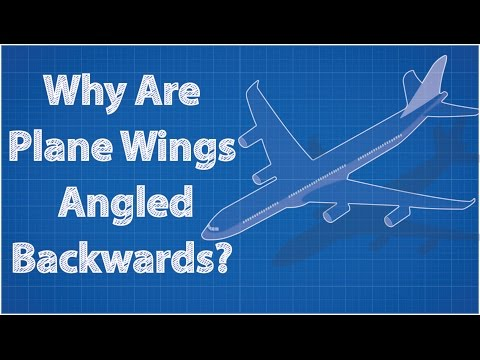 Why Are Airplane Wings Angled Backwards??