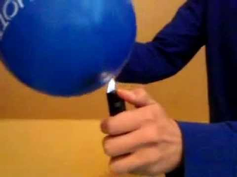 faszination feuer feuerfester luftballon youtube. Black Bedroom Furniture Sets. Home Design Ideas