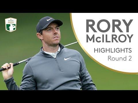Rory McIlroy shoots 65 at Wentworth | Round 2 | 2018 BMW PGA Championship
