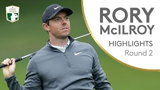Rory McIlroy shoots 65 at Wentworth | Round 2 | 2018 BMW PGA Championship