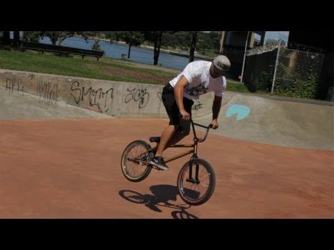 How to Do a 180   BMX Bike Tricks
