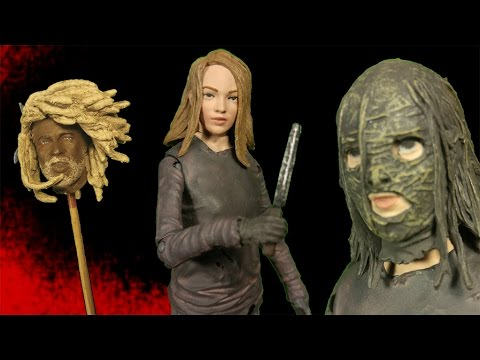 The Walking Dead Lydia Comic Action Figure Review