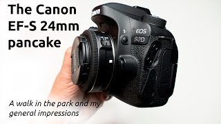 BEST LOW COST WIDE ANGLE: THE CANON EFS 24MM 2.8 STM PANCAKE REVIEW WITH SAMPLES by THE MOVING ICON