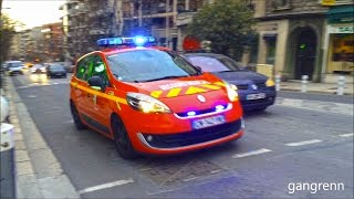 French EMS supervisor + unmarked police unit // VLM pompier + police nationale