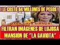 """filtran IMÁGENES de la LUJOSA CASA que """"LA GAVIOTA"""" COMPRÒ en LOS ÁNGELES"""