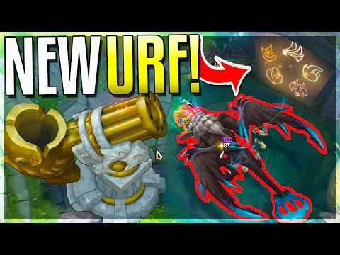 NEW URF MODE!!! NEW URF DRAGON + CANNON THROWS YOU ANYWHERE!! - Urf