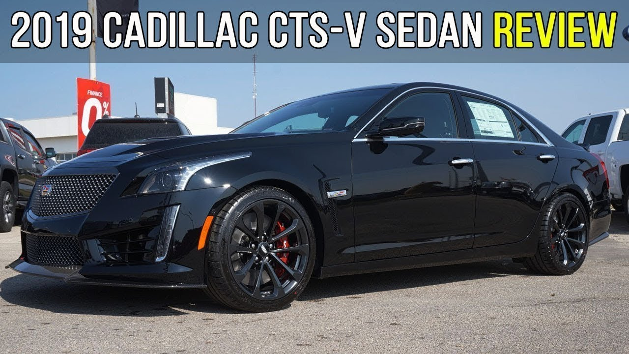 all-new 2019 cadillac cts-v sedan | carbon fiber package (in-depth