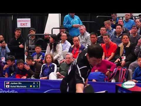 2017 US Open Table 1 - Junhan Wu v Kohei Morimoto - Men's Semifinals