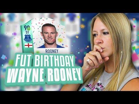 I GOT FUT BIRTHDAY WAYNE ROONEY! HE IS AWESOME! FIFA 18