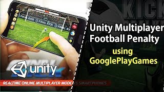 Unity Multiplayer football penalty shooter Game with Chat
