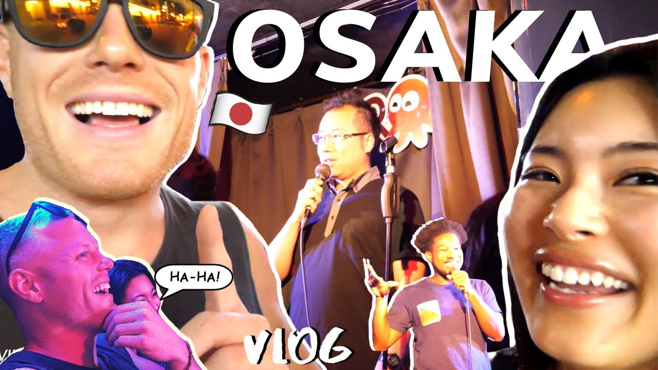 NIGHT OUT IN OSAKA 2! ?? Comedy Club & Secret Cocktail Bar ... VLOG!