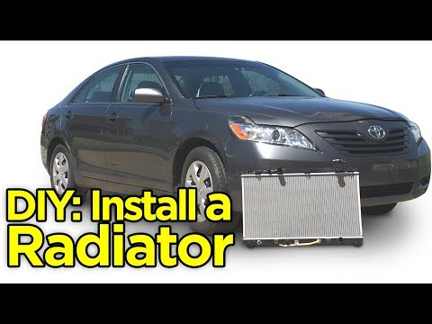 How to Replace Radiator: 2007-2011 Toyota Camry