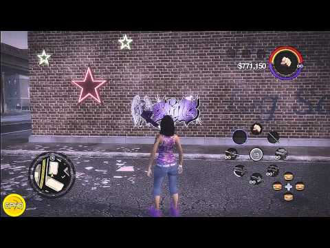 Saints Row 2 all 50 tag locations