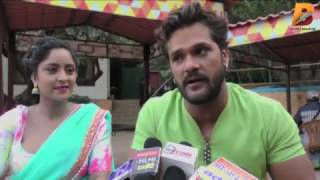 आतंकवादी || Khesari Lal Exclusive Interview On Location Atankwadi Film || Superhit Bhojpuri Film !!