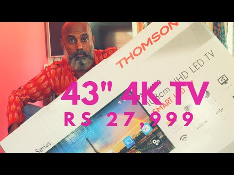 43-inch 4K TV for Rs 27,999 !! Thomson 4K TV in India