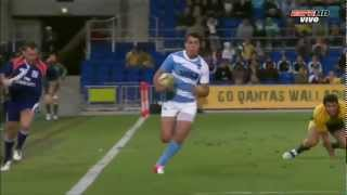 Top 3 Tries Los Pumas Rugby Championship 2012